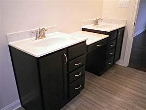 Baths phillippe builders for His and hers bathroom sink