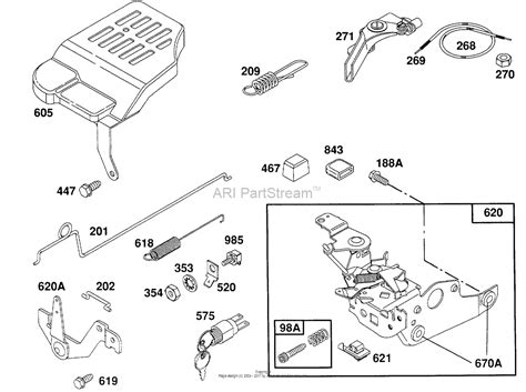 Diagram Of To by Briggs And Stratton 124702 3106 01 Parts Diagram For