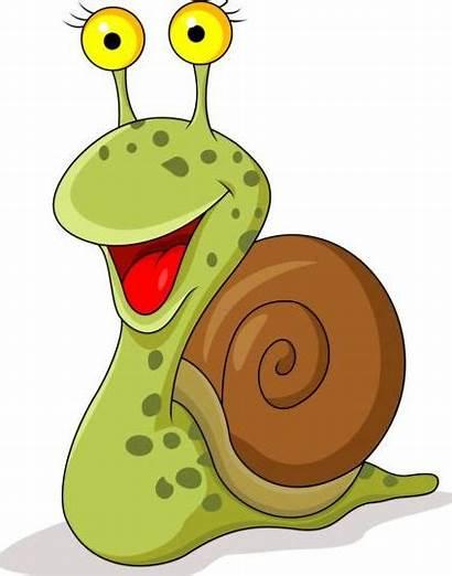 Cartoon Snails Vector Lovely Snail Drawing Gooloc