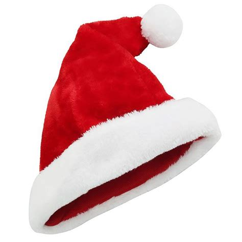christmas shop plush santa hat cs183