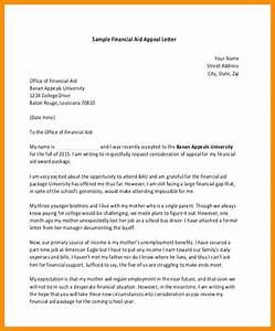 financial aid appeal letter you write an appeal for With financial aid suspension appeal letter template