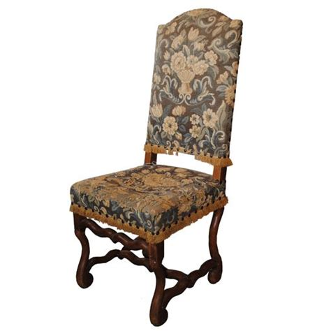 set of 6 louis xiv dining chairs country house