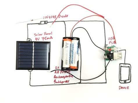 Green Lab Diy Solar Usb Charger Youtube