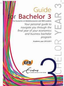 Bachelor 3 Guide Booklet