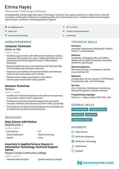 resumes samples resume format