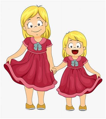 Sister Clipart Sisters Clip Brother Transparent Ag