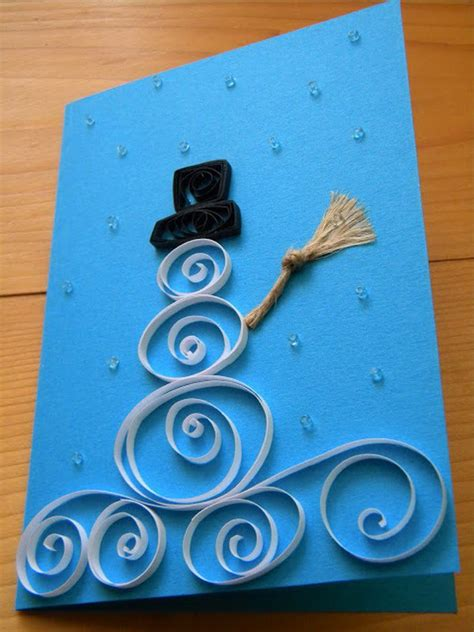 creative homemade christmas cards showcase hative