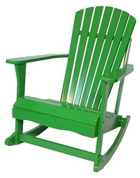 kohls outdoor rocking chair adirondack porch rocking chair tropical green modern