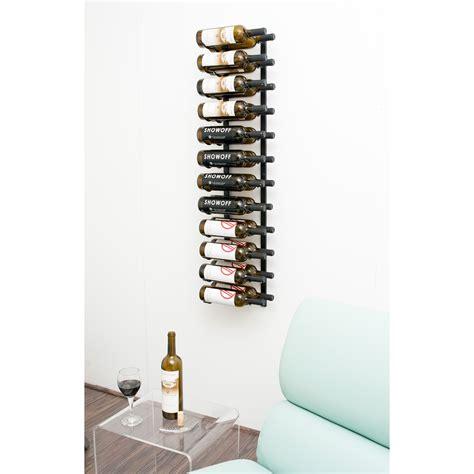 vintageview wall series  bottle wall mounted wine rack