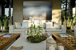 Deco Zen Salon : deco salon zen moderne ~ Teatrodelosmanantiales.com Idées de Décoration