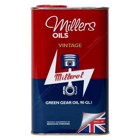 vintage green oil l millers oils vintage green gear oil 90 gl1 buy online