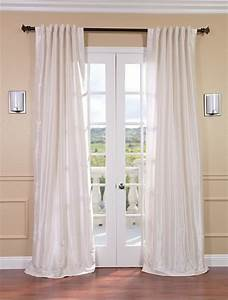 off white vintage textured faux dupioni silk curtain With off white curtains texture