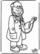 Doctor Coloring Pages Cartoon Doctors Printable Bag Getcoloringpages Hospital Community Kidney sketch template