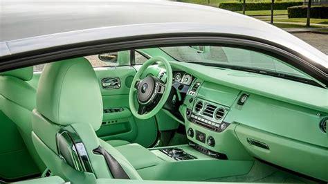 aquatic colored car interiors aqeuus green