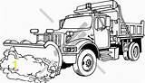 Plow Snow Truck Clipart Coloring Snowplow Plowing Clip Ram Cartoon Cliparts Pages Vector Clipartmag Clipground Divyajanani sketch template