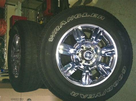 sale set   goodyear wrangler sra tires
