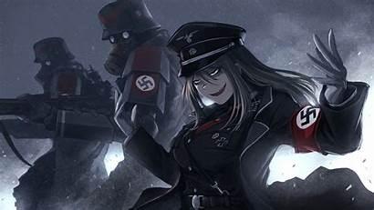 Anime Edgy Desktop Nazi Cartoon Soldiers Soldier