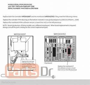 Fridge Wiring Diagram Ge Profile Pfss6pkwass