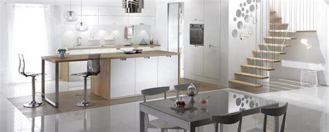 photo cuisine ouverte sur salon cuisine en u ouverte sur salon decoration idee deco