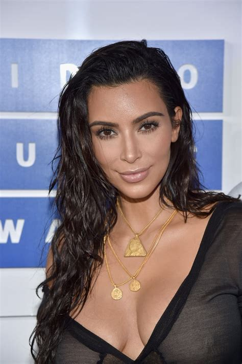 Kim Kardashian Hair Makeup Mtv Video Music
