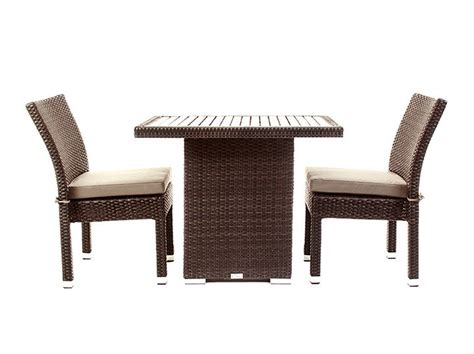 ensemble table et chaises balcony patio furniture condo outdoor dining table ogni