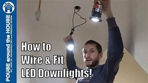 How To Install Downlighters  Downlights  Led Downlight