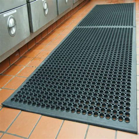 rubber mat flooring 8 reasons why drainage kitchen rubber mats are essential
