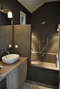 Beton Cire Bad : badkamers duurzaam bouwen met tadelakt leemstuc en ecologische bouwmaterialen dat is ~ Indierocktalk.com Haus und Dekorationen