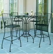 Patio Furniture Pub Table Sets by Patio Bistro Table And Chair Set Outdoor Pub And Bistro Sets Chicago By