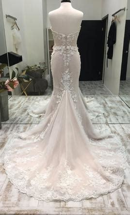 randy fenoli elizabeth wedding dress sample size