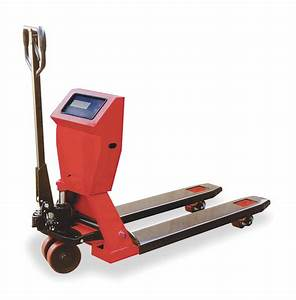 Dayton Standard Scale Manual Pallet Jack  4400 Lb  Load