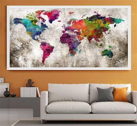 les 25 meilleures id 233 es concernant carte murale du monde sur fond d 233 cran de voyage