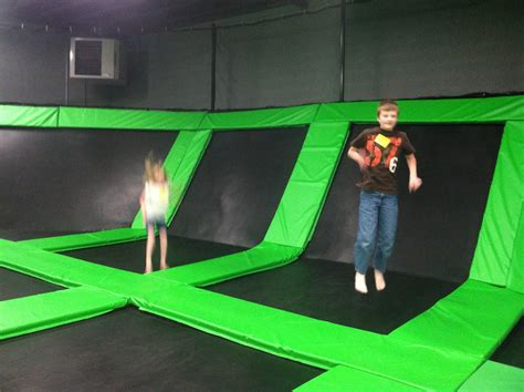A Utah Moms Life The Wairhouse Trampoline Park Out And