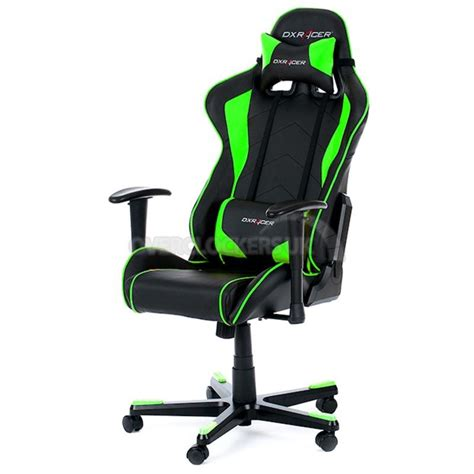 dxracer chaise dxracer formula series gaming chair green oh fe08 ne ocuk
