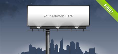 billboard template billboard template free psd files
