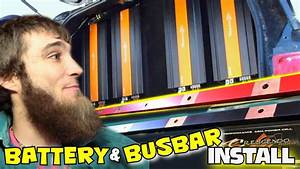Copper Busbar  U0026 Battery Bank Install W   Multiple Crescendo