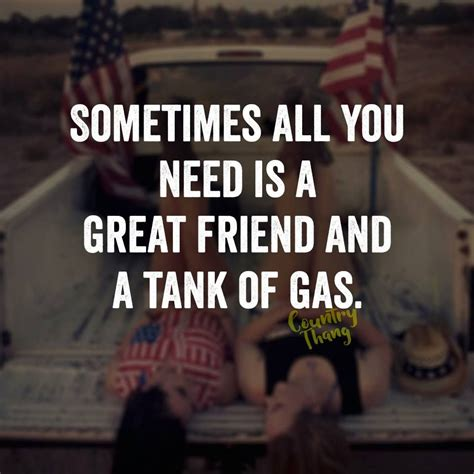 great friend   tank  gas