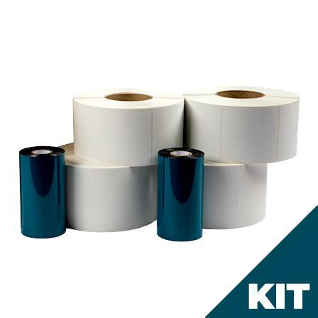 thermal transfer label zebra ribbon kit