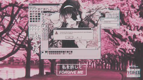 pink aesthetic anime desktop wallpapers