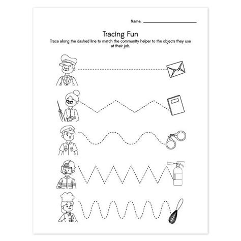 community helpers worksheets simple everyday 246 | community helpers activities for preschool image grande