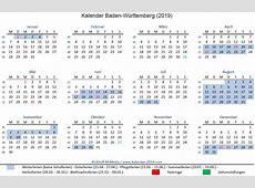 Kalender ausdrucken – Kalender 2019