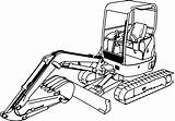 Coloring Excavator Digger Pages Mini Drawing Truck Colouring Hitachi Printable Wecoloringpage Inspired Clipartmag Entitlementtrap Popular sketch template