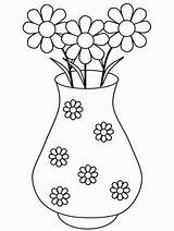Coloring Pages Flowers Columbine Popular sketch template