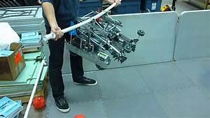 Vex Toss Up High Hanging Robot V1.0 - YouTube