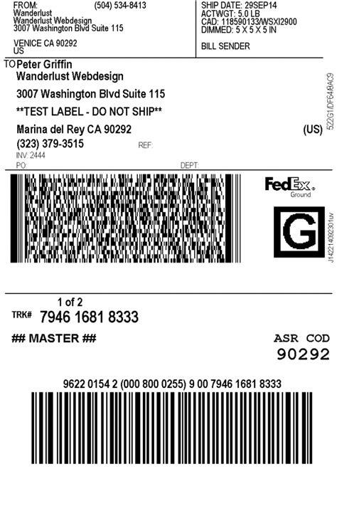 print fedex shipping labels woocommerce plugin