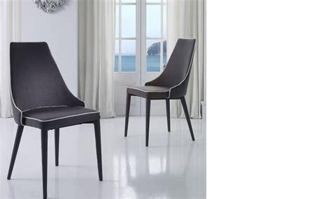 chaise de salle a manger grise chaise salle a manger grise et blanche design roan lot de 2