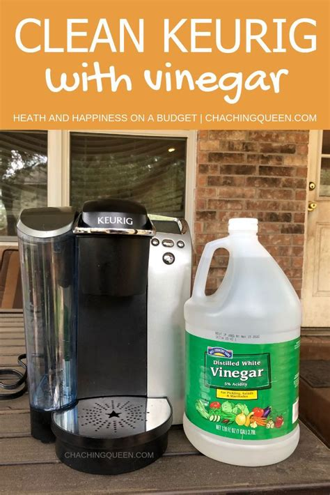 More likely than not, if you do the first step regularly, your coffee pot won't get. How to Clean A Keurig Coffee Maker with Vinegar   Cleaning ...