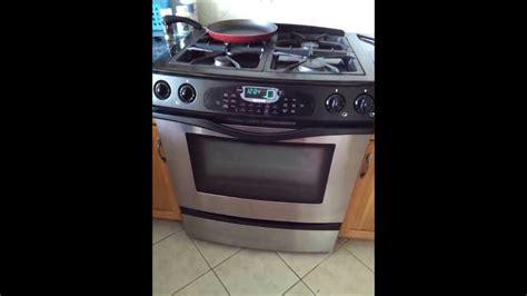 jenn air oven turns   youtube