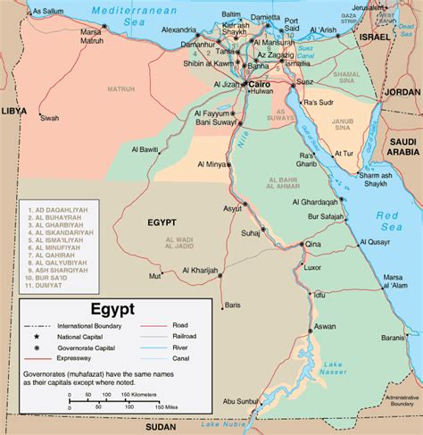 map  egypt outravelling maps guide