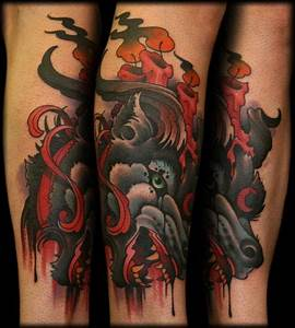 cry of the wolf by Jeff Ensminger: Tattoo Inspiration ...